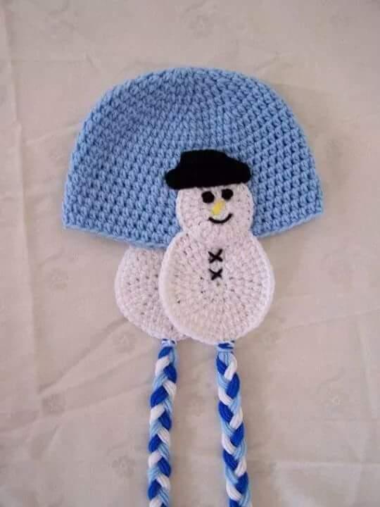 sombrero de nieve