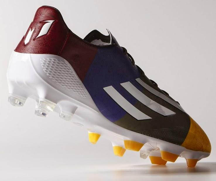 75f4a6428d1 To allow the best possible ball control this new boot features Dribbletex  raised 3D grip on the front of the foot area. Adidas Blaugrana F50 ...