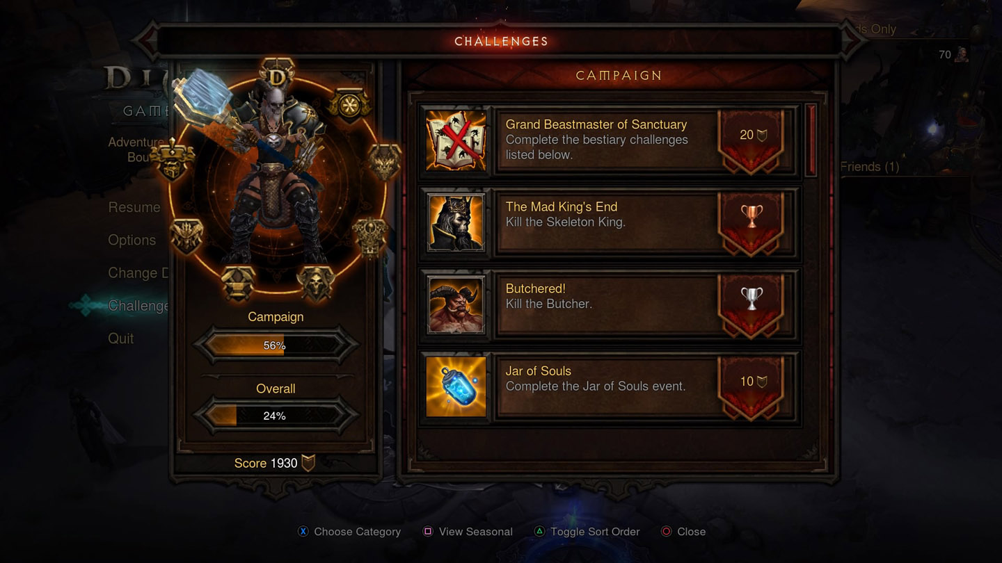 Gaming's the Word: Diablo III: Reaper of Souls PS4 Review