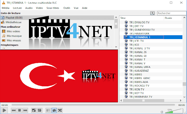 Free IPTV Turkey M3u playlist Channel List