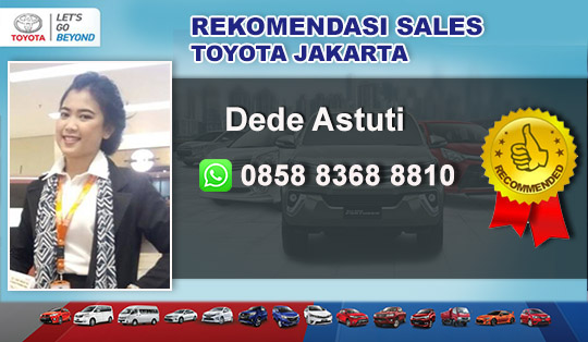 Rekomendasi Sales Toyota Cipayung Bekasi