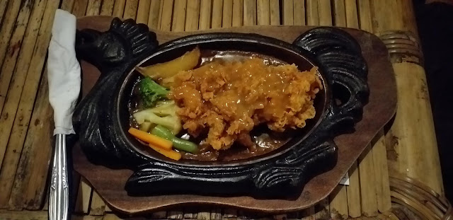 Chicken Steak with Ori Sauce