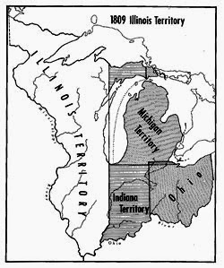 The Illinois Territory Had Many Forms Before Statehood