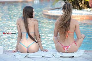 Anais Zanotti and Nicole Cardia Beautiful Young Girls in tiny Bikini Nov 2017 Sexy ass tits WOW Young and Hot