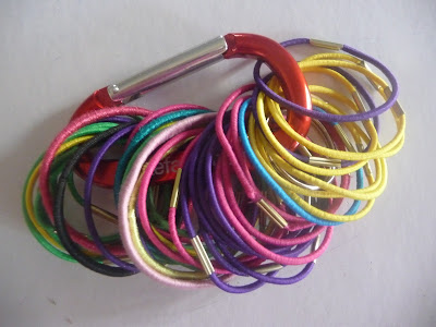 Keep Elastic Ponytail Holder Contained in One Place