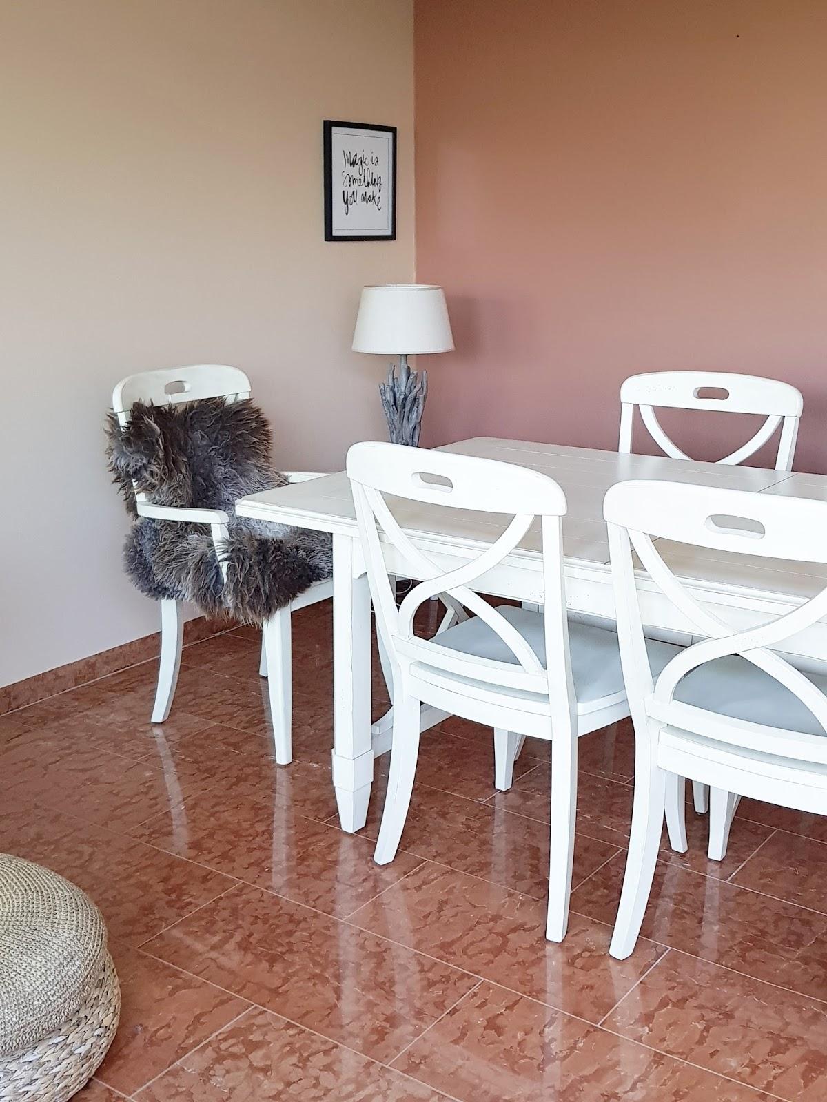 Esszimmer vor der Renovierung mit italienische Marmor