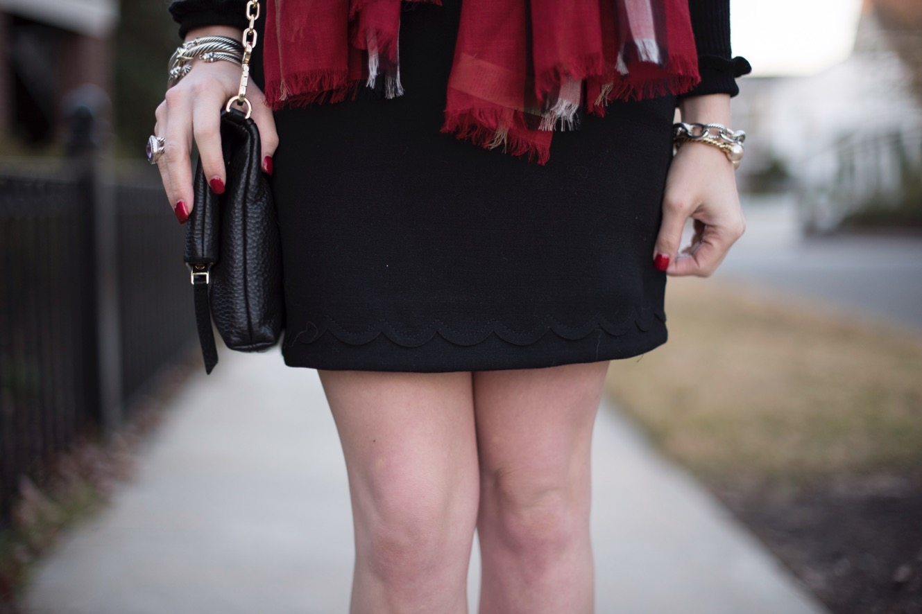 Scallop Skirt - Something Delightful Blog