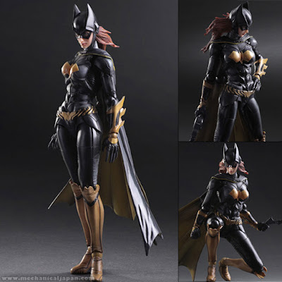 Batgirl Play Arts Kai da Batman: Arkham Knight della Square Enix