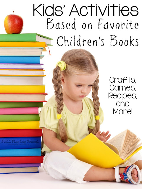 What an amazing resource of kids activities all in one place! Crafts, recipes, games, and more based on classic children's books.