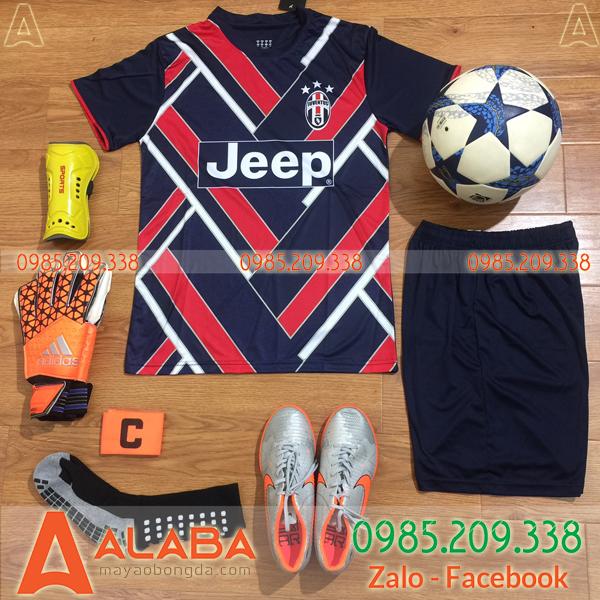 Áo CLB Juventus 2019 Màu Đỏ Đen