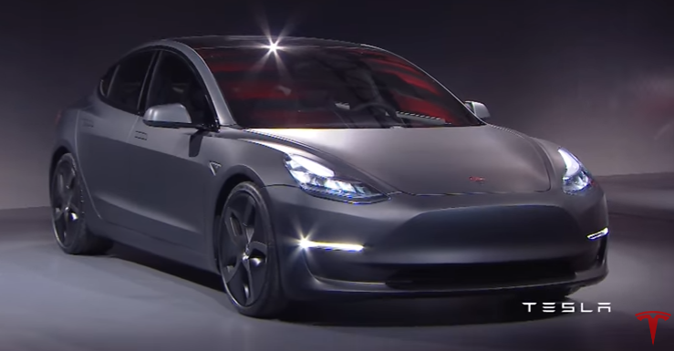 Tesla Electric Car Model 3 Unveiled At $35,000; Available ...
