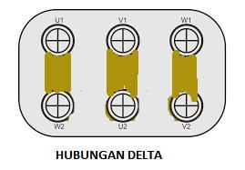 motor induksi hubungan delta