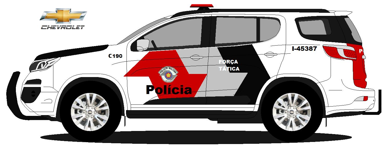 Trailblazer Forca Tatica 2017
