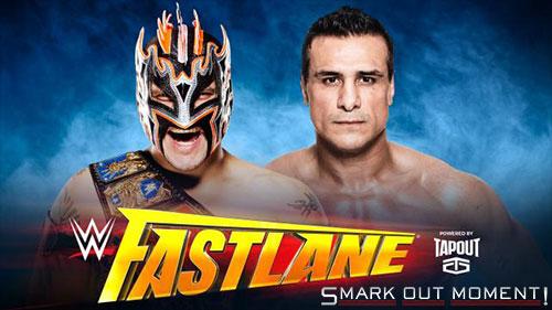 WWE Fastlane 2016 Kalisto vs Alberto Del Rio US Title Match