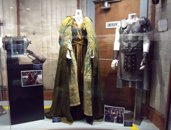 Original Gladiator movie costumes