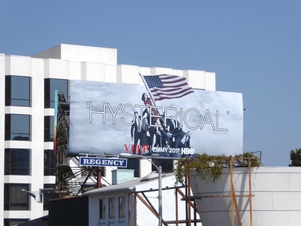 Veep season 6 Hysterical Emmy billboard