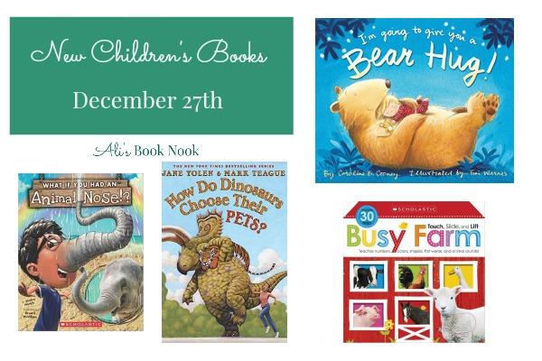 cute books for children new december 27th