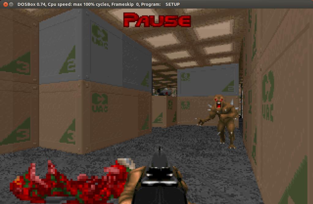 Doom Ultimate в Ubuntu 12 04 и DOSBox  | Играем на Ubuntu