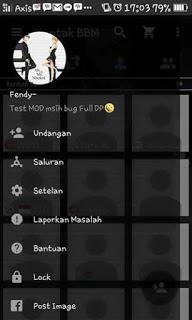 BBM MOD TRANSPARAN VERSI 2.9.0.51 APK