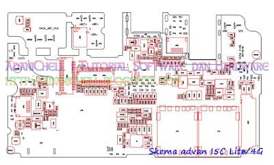 Skema advan I5C Lite/4G
