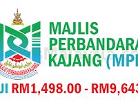 Majlis Perbandaran Kajang MPKJ - Gaji RM1,498 - RM9,643