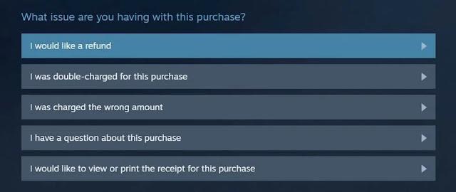 Steam'de Bir Oyun Nasıl İade Edilir