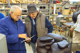 Consulting on Bronze Casting Process for New Sculpture