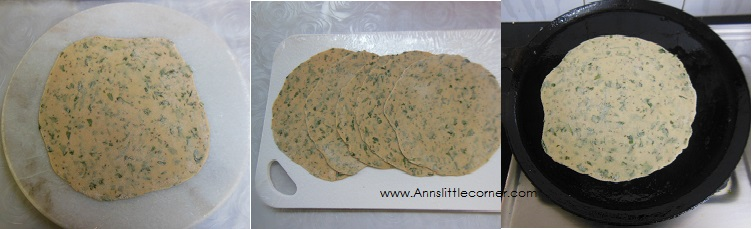 How to make Ajwain Chapati- Step 6