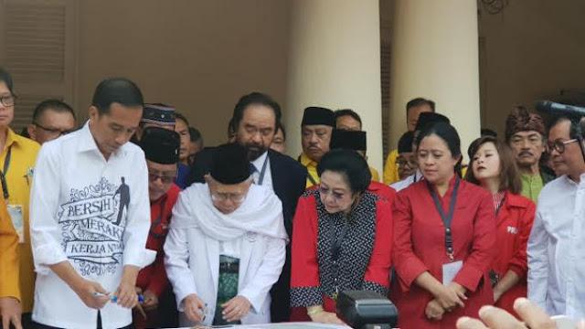Jokowi Pilih Ma'ruf, PDIP Tak Takut Kehilangan Pemilih Milenial