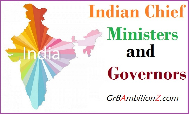 latest chief ministers list 2018 governors india 2018 cms of