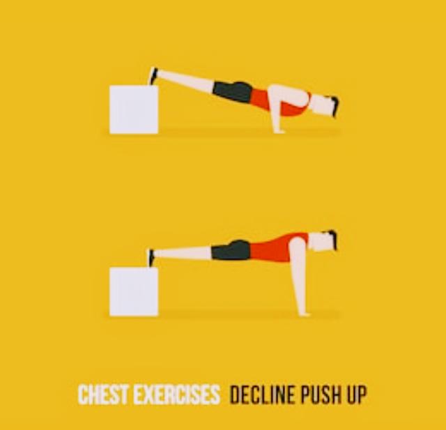 Decline Push Up