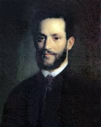 Mihaly Kovacs portrait of  Vambery