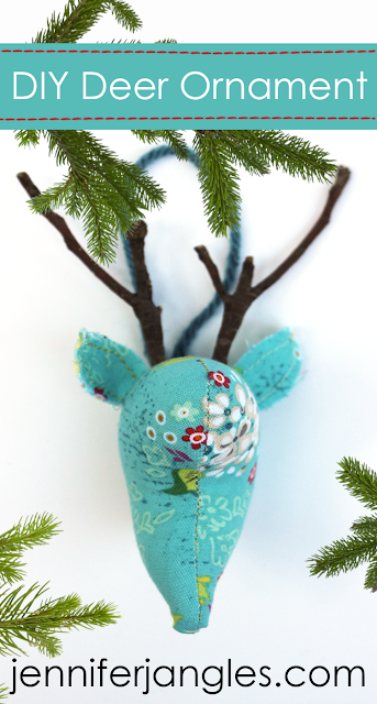 DIY Deer Ornament