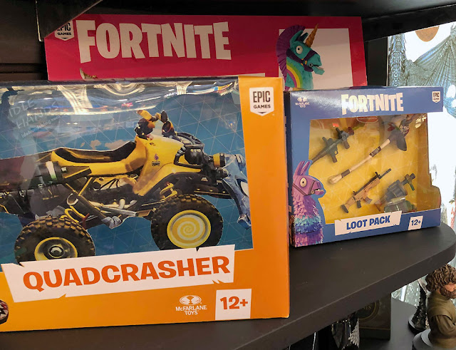 UK Toy Fair 2019 McFarlane Fortnite Action Figures