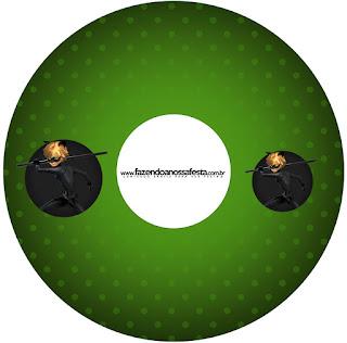 Etiquetas de Cat Noir para CD's.