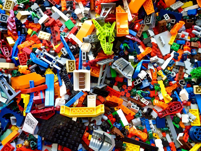 Assortment of Lego