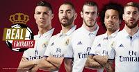 Promoção Real Emirates: Concorra Camisa autografada Real Madrid