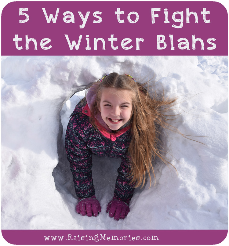 How to Stay Happy during the Winter by www.RaisingMemories.com