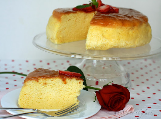 Baker's Corner: Valentine's Day Special - Japanese Cheesecake