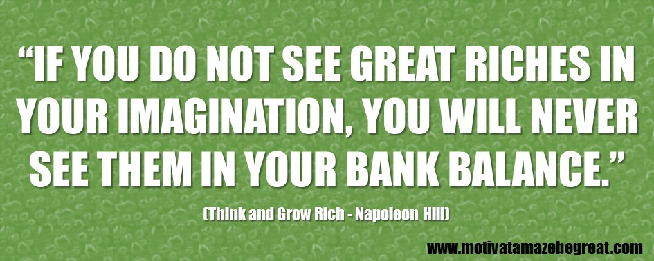 Think And Grow Rich Quotes Alluring 56 Best Think And Grow Rich Quotesnapoleon Hill  Motivate