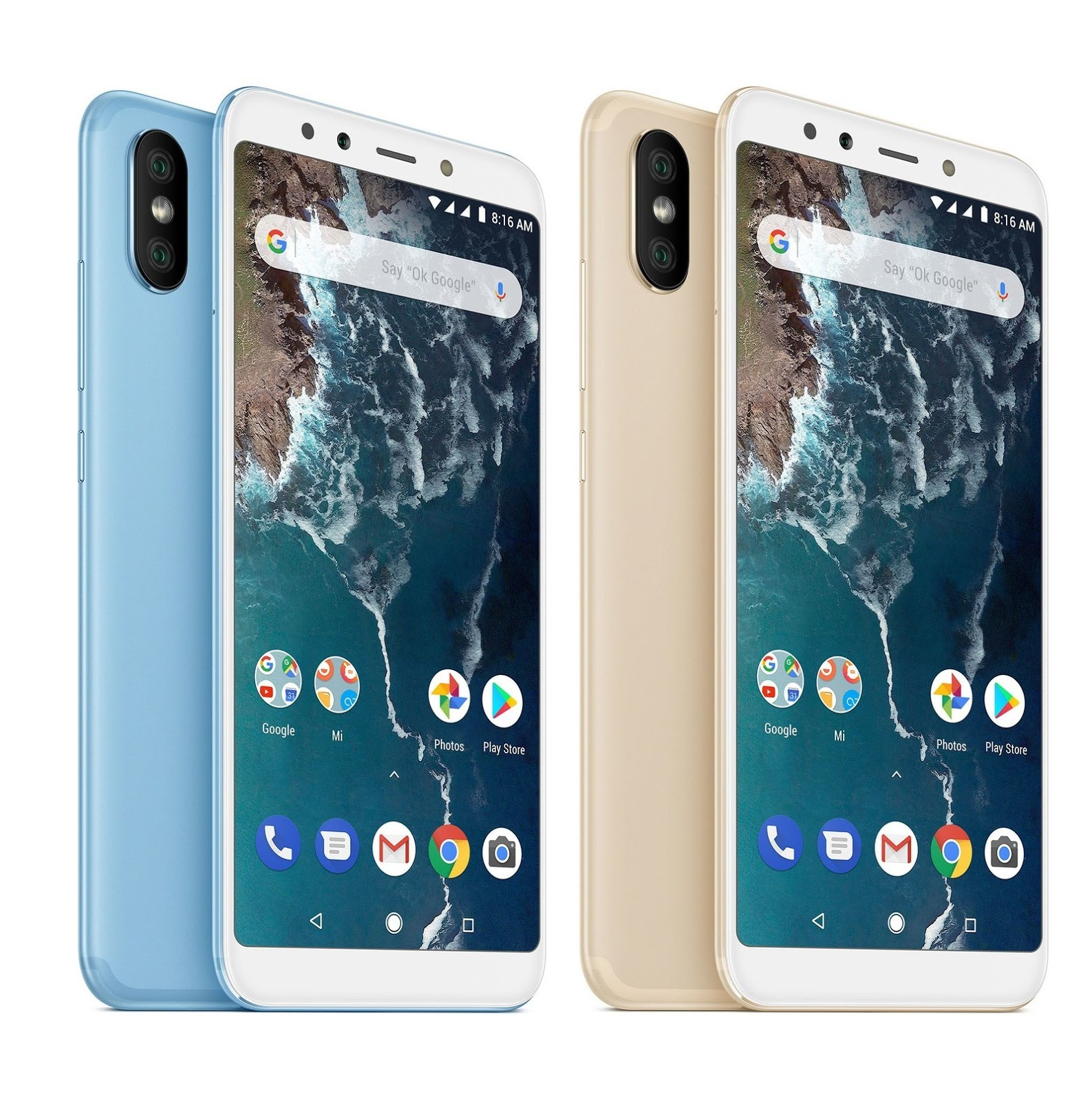 Mi A2 & Mi A2 Lite Launched :-Price,Specifications