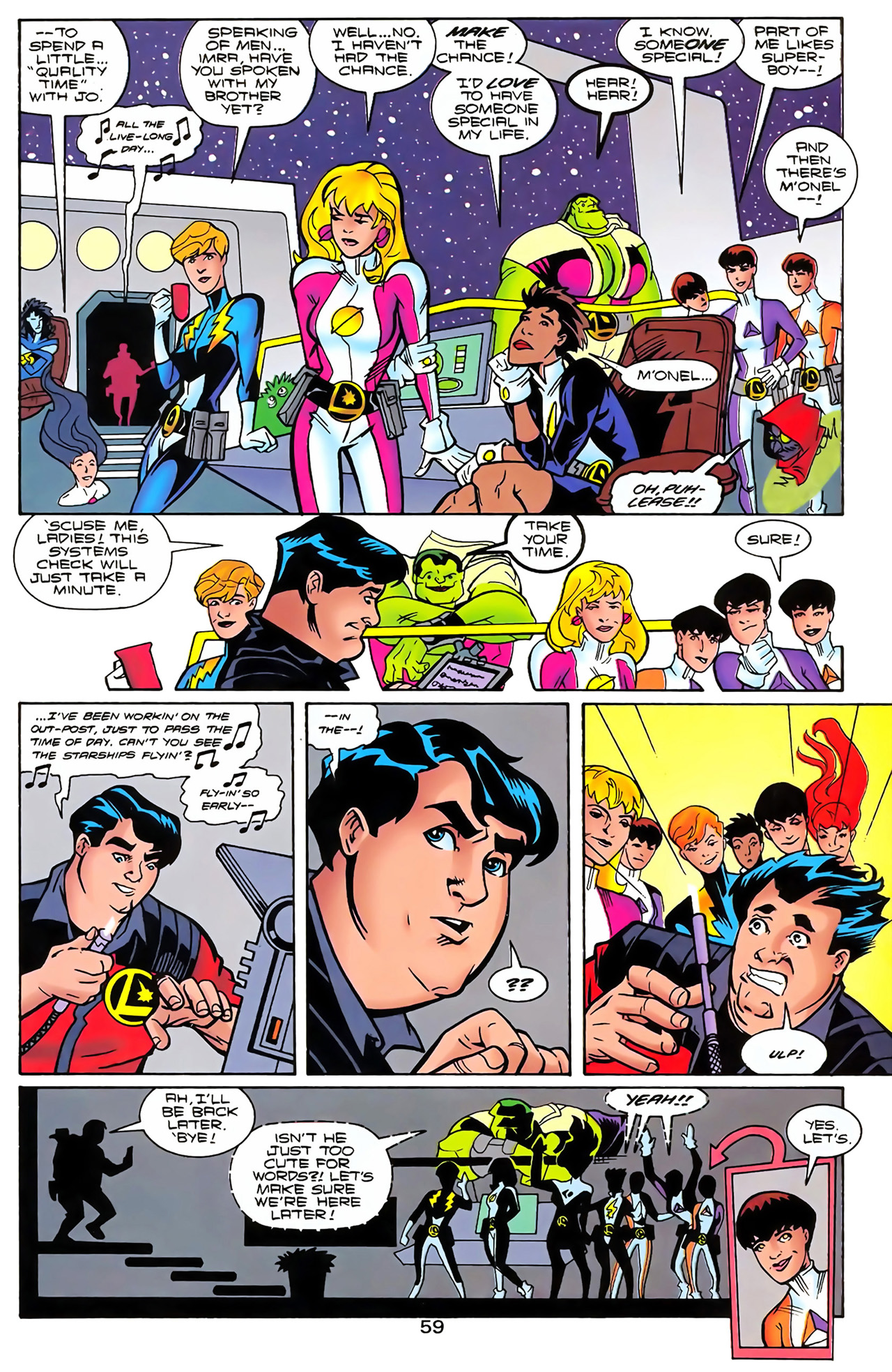 Legion of Super-Heroes (1989) 100 Page 53