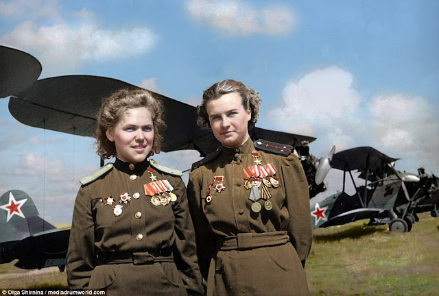 Rufina Gasheva and Nataly Meklin Night Witches worldwartwo.filminspector.com