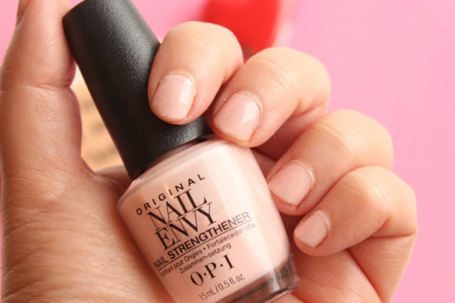 O.P.I Bubble Bath Nail Envy Nail Lacquer
