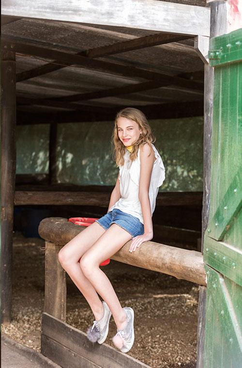 e5f4752dfcdee Blusas para nenas moda verano 2018.