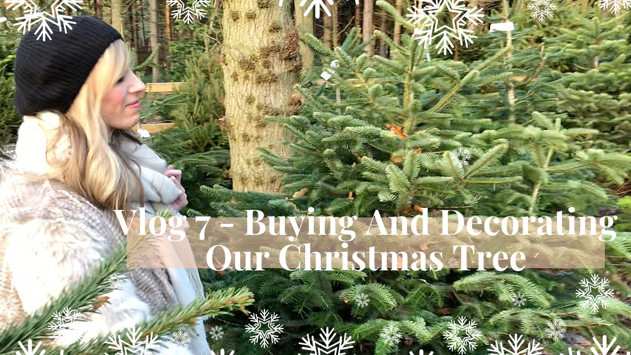 Buying And Decorating Our Christmas Tree