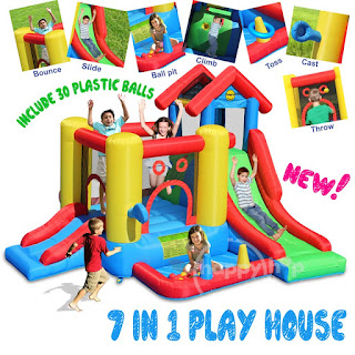 Istana Rumah Balon Play House