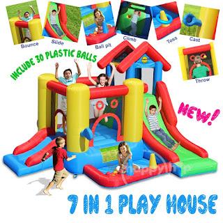 Istana Rumah Balon Play House