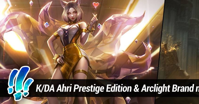 Surrender At 20 K Da Ahri Prestige Edition Arclight Brand Now