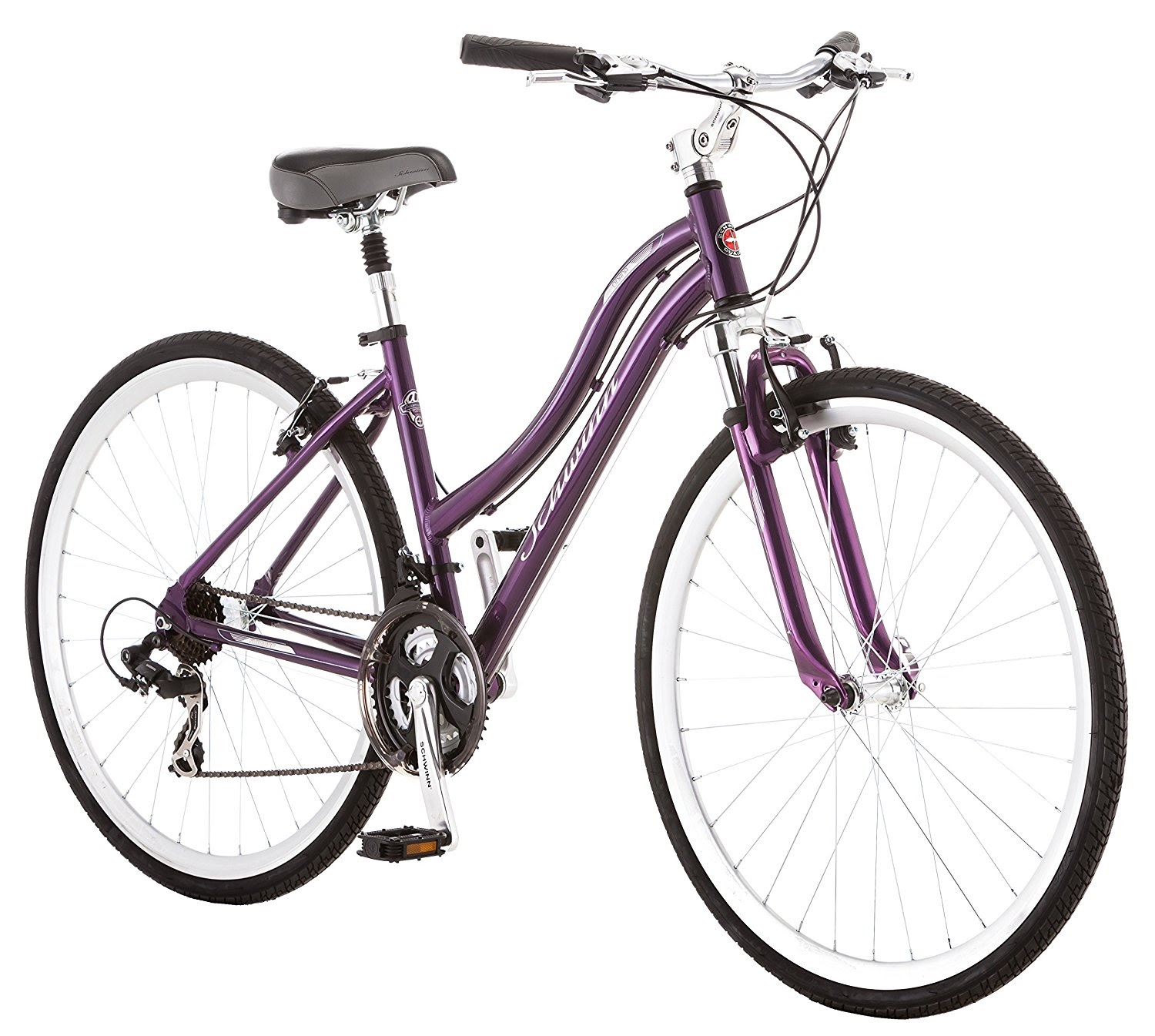 Exercise Bike Zone Schwinn Capitol Women S Hybrid Bicycle